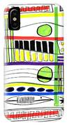 Modern Drawing Fifteen IPhone Case