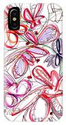 Modern Drawing Fifty-eight IPhone Case