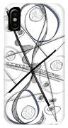 Modern Drawing Forty-eight IPhone Case