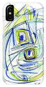 Modern Drawing Forty IPhone Case