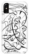 Modern Drawing Forty-seven IPhone Case
