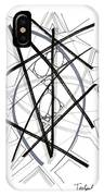 Modern Drawing Forty-six IPhone Case