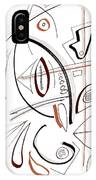 Modern Drawing Sixty-seven IPhone Case