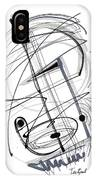 Modern Drawing Thirty-eight IPhone Case