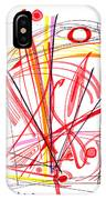 Modern Drawing Thirty-nine IPhone Case