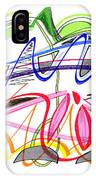Modern Drawing Twenty-five IPhone Case