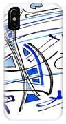 Modern Drawing Twenty-seven IPhone Case