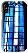 Modern Johannes Schreiter Window Mainz 2 IPhone Case