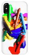 Modern Rainbow Art IPhone Case