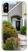 Modern Suburban House Hayward California 32 IPhone Case