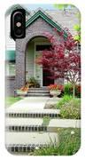 Modern Suburban House Hayward California 33 IPhone Case