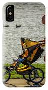 Moher And Child Jogging IPhone Case