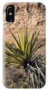 Mojave Yucca IPhone Case