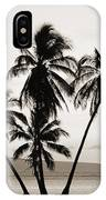 Molokai Palms IPhone Case