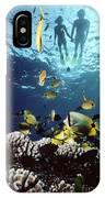 Molokini Snorkeling Couple IPhone Case