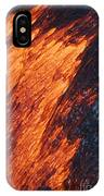 Molten Pahoehoe Lava IPhone Case