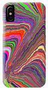 Molten Rainbow Redux IPhone Case