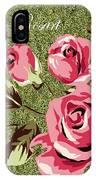 Mom's Day Elegance Vintage Rose IPhone Case