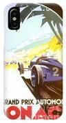 Monaco 5 Grand Prix 1933 IPhone Case