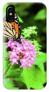 Monarch Butterfly And Honey Bee IPhone Case