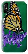 Monarch Butterfly On Flower Blossom IPhone Case