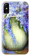 Monarch Of The Lilacs IPhone Case