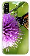 Monarch Thistle IPhone Case