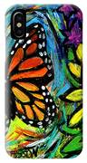 Monarch With Milkweed IPhone Case