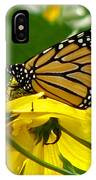 Monarchs Gold IPhone Case