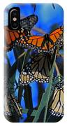 Monarchs In Paradise IPhone Case