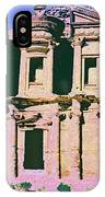 Monastery At Petra IPhone Case