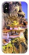 Monastery In Bhutan IPhone Case