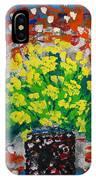 Monday Flowers IPhone Case