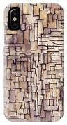 Mondrian: Composition, 1913 IPhone Case