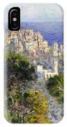 Monet: Bordighera, 1884 IPhone Case