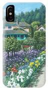 Monet's Garden Giverny IPhone Case