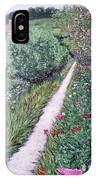 Monet's Garden Path IPhone Case