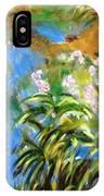 Monet's Irises IPhone Case