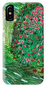 Monet's Parc Monceau IPhone Case