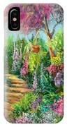 Monica's Garden IPhone Case