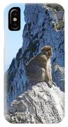 Monkey In Gibraltar IPhone Case