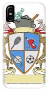 Monkey Money Cook Pot Sports Wine Coat Of Arms Drawing IPhone Case
