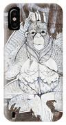 Monkey With Eyes IPhone Case