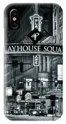 Monochrome Grayscale Palyhouse Square IPhone Case