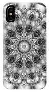 Monochrome Kaleidoscope IPhone Case