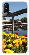 Monorail At Disney's Epcot IPhone Case