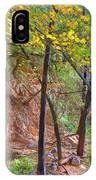 Monrovia Canyon In Fall IPhone Case