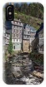 Monschau Village View IPhone Case