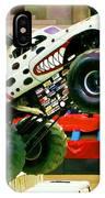 Monster Jam 2013 In Nassau Coliseum IPhone Case