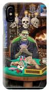 Monster Poker IPhone Case